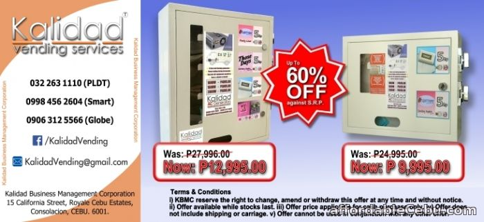 1st picture of SPECIAL OFFER!! - SMALL ITEM VENDING MACHINES - SAVE upto 60%!! For Sale in Cebu, Philippines