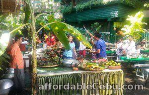 1st picture of Filipino salu-salo (dining style) at Villa Escudero day tour Offer in Cebu, Philippines