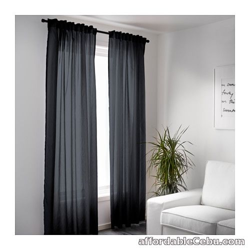 2nd picture of VIVAN Dark Grey Curtains (Product of Sweden) For Sale in Cebu, Philippines