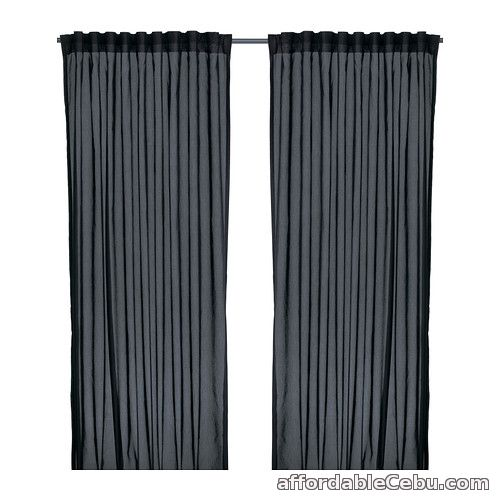 1st picture of VIVAN Dark Grey Curtains (Product of Sweden) For Sale in Cebu, Philippines