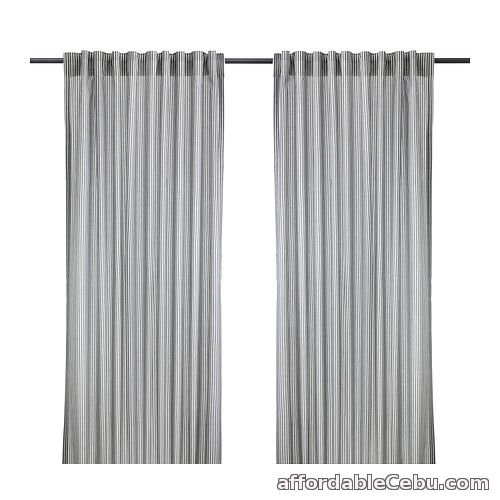 1st picture of GULSPORRE Curtains (Light Grey) Product of Sweden For Sale in Cebu, Philippines