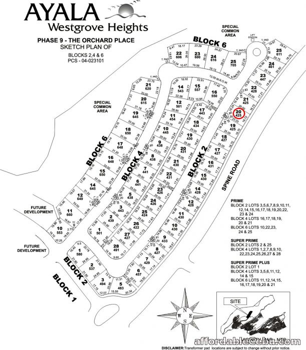 1st picture of Ayala Westgrove Heights Lot For Sale For Sale in Cebu, Philippines