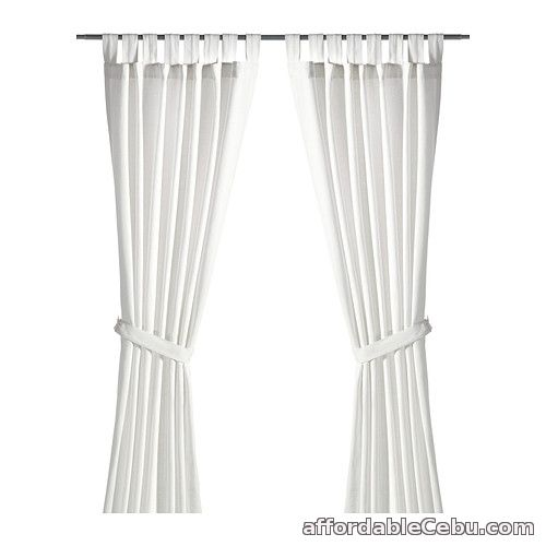 1st picture of LENDA Curtains White (Product of Sweden) For Sale in Cebu, Philippines