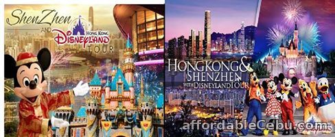 1st picture of HONGKONG WITH SHENZHEN WITH DISNEYLAND TOUR Offer in Cebu, Philippines