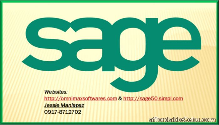 1st picture of HAVE YOU EVER TRIED & BOUGHT SAGE 50 ACCOUNTING SOFTWARE 2016 For Sale in Cebu, Philippines