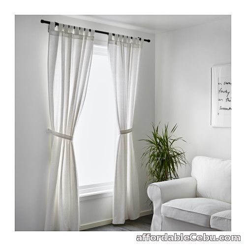 2nd picture of LENDA Curtains White (Product of Sweden) For Sale in Cebu, Philippines