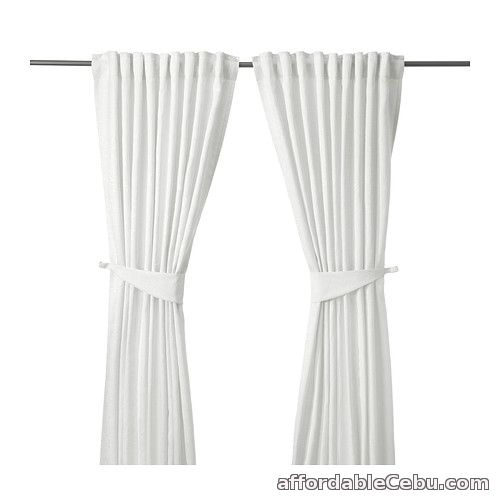 1st picture of BLEKVIVA Curtains White (Product of Sweden) For Sale in Cebu, Philippines