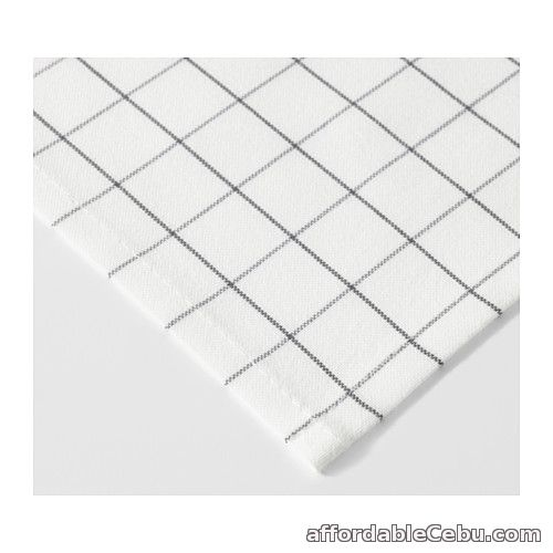 3rd picture of IKEA 365+ Tea Towel White (Product of Sweden) For Sale in Cebu, Philippines