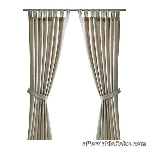 1st picture of LENDA Curtains Beige (Product of Sweden) For Sale in Cebu, Philippines