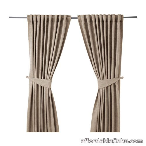 1st picture of BLEKVIVA Curtains Beige (Product of Sweden) For Sale in Cebu, Philippines
