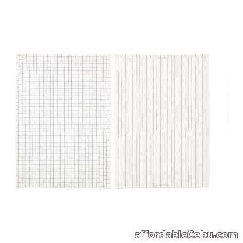 2nd picture of IKEA 365+ Tea Towel White (Product of Sweden) For Sale in Cebu, Philippines
