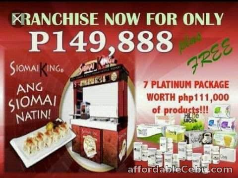 1st picture of JC PREMIERE health and beauty/ FOODCART FRANCHISING for every filipino For Sale in Cebu, Philippines