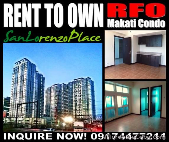 1st picture of San Lorenzo Place Rent to Own RFO Condo in Makati near Sea Shell Shore Residences For Sale in Cebu, Philippines