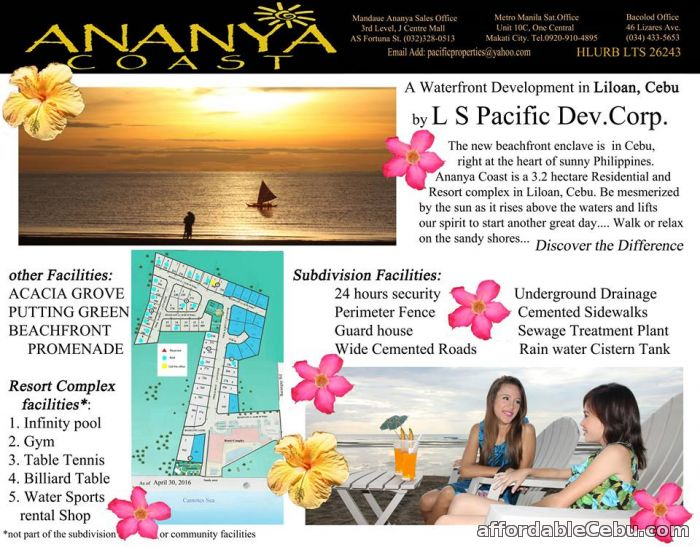 1st picture of Lot For Sale - Ananya Coast For Sale in Cebu, Philippines