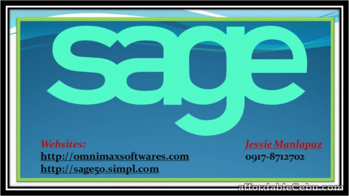 1st picture of JOIN THE GROWING USERS OF SAGE 50 ACCOUNTING SOFTWARE 2016 For Sale in Cebu, Philippines