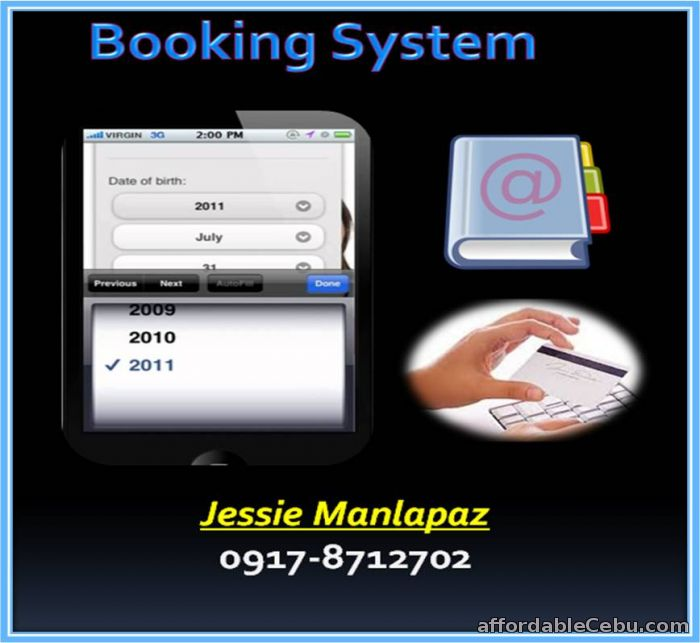 1st picture of DO YOU WANT A BOOKING SYSTEM? For Sale in Cebu, Philippines