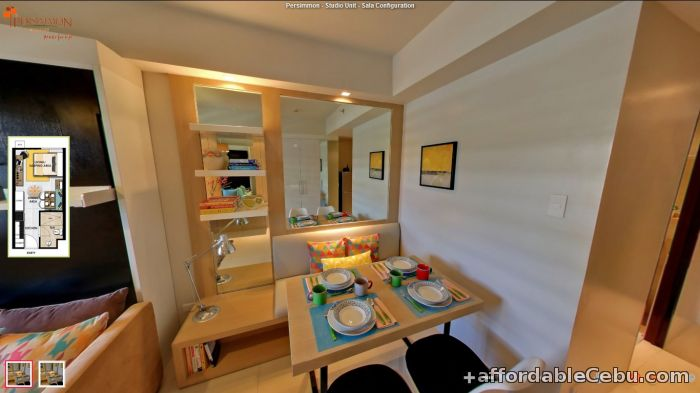 3rd picture of ONLY P8,888/MO. CONDO. FULLY FURNISHED, COMPLETE AMENITIES, MABOLO, CEBU. For Sale in Cebu, Philippines