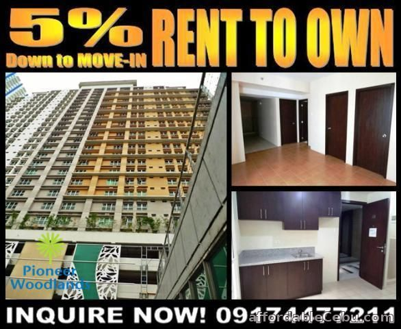 1st picture of Pioneer Woodlands Condo for Sale in Mandaluyong Rent to Own RFO For Sale in Cebu, Philippines