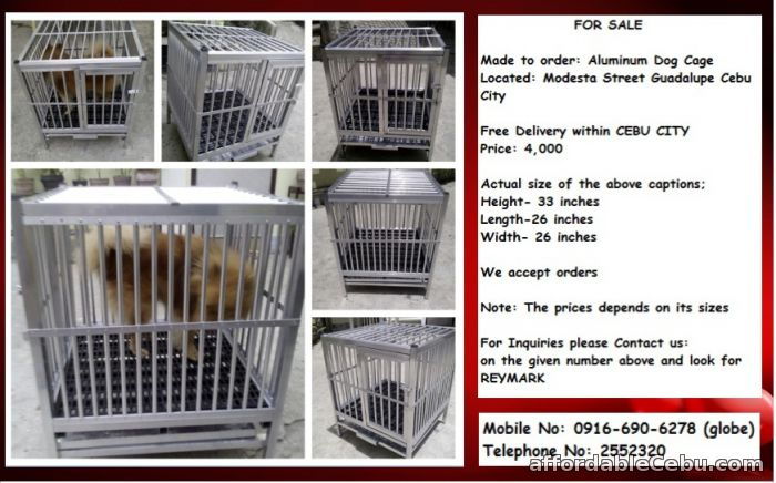 1st picture of Aluminum Cage for Sale For Sale in Cebu, Philippines
