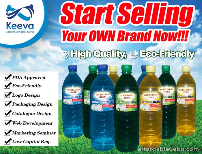 1st picture of Be a Dealer of Dishwashing Liquid, Detergent Powder, Fabric Conditioner For Sale in Cebu, Philippines