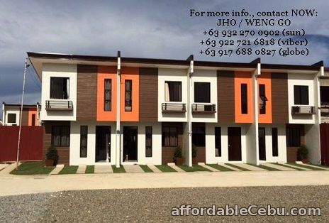 1st picture of Php 9,116 Monthly Navona Subdivision Townhouse in Lapulapu City For Sale in Cebu, Philippines