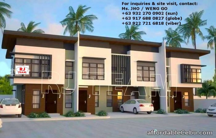 1st picture of Mandaue Townhouses Clustered Of 4 Units Pre-selling For Sale in Cebu, Philippines