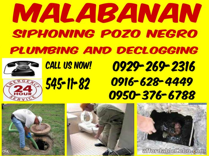 1st picture of Lhoren Malabanan Declogging And siphoning Services 545-1182/09483632018 Offer in Cebu, Philippines