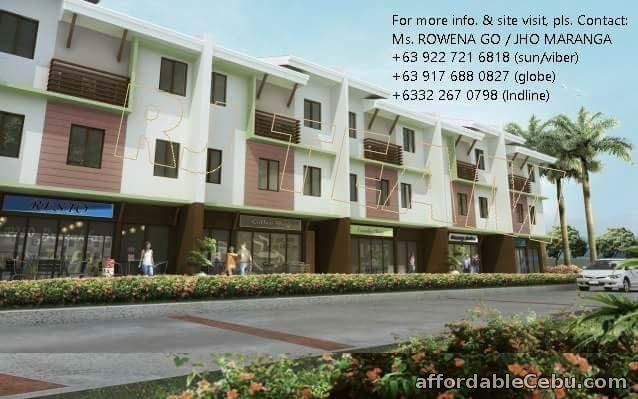 1st picture of Ajoya Sinaya Shophouse LIVE AND DO BUSINESS IN ONE PLACE For Sale in Cebu, Philippines