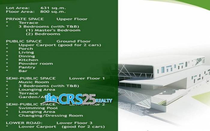 2nd picture of Modern House with Swimming Pool in Maria Luisa Cebu City For Sale in Cebu, Philippines