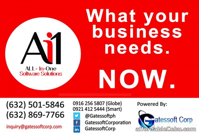 1st picture of All in One Software Solutions powered by Gatessoft Corporation! Offer in Cebu, Philippines