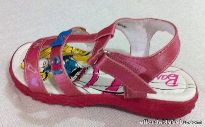 1st picture of pink Barbie open toe sandals For Sale in Cebu, Philippines