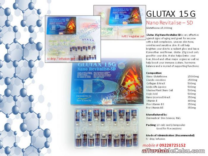 1st picture of glutax 15g nano revitalise glutathione For Sale in Cebu, Philippines