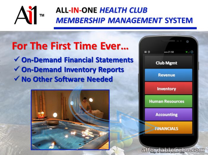 1st picture of Health Club Membership Management System For Sale in Cebu, Philippines