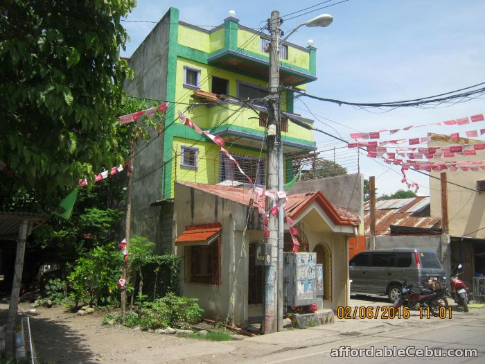 1st picture of Prime 4 Storey Commercial Building and 2 Story House and Lot For Sale in Cebu, Philippines