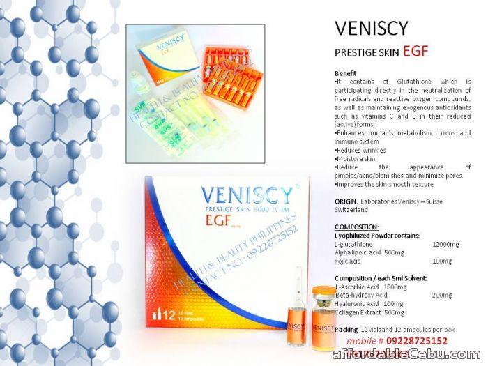 1st picture of VENISCY PRESTIGE SKIN EGF 16,500MG For Sale in Cebu, Philippines
