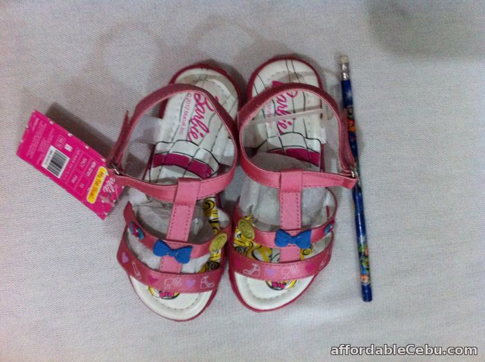 2nd picture of pink Barbie open toe sandals For Sale in Cebu, Philippines