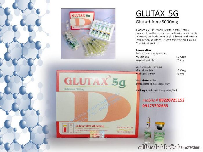 1st picture of Glutax 5g glutathione For Sale in Cebu, Philippines