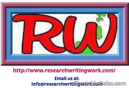 1st picture of Academic Research Writing Services: Editing-Proofreading-Rewriting -Formatting etc Offer in Cebu, Philippines