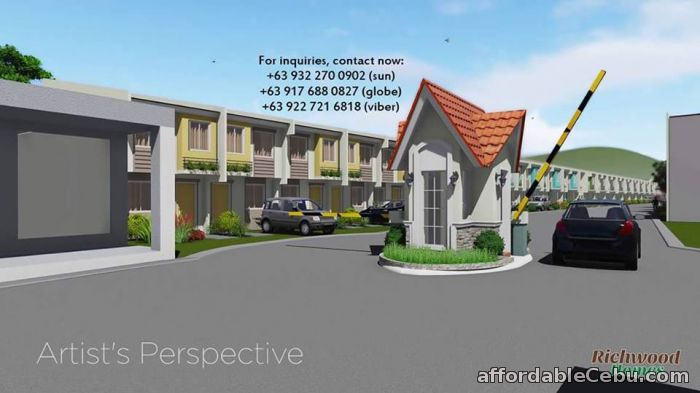 2nd picture of Php 5,915 a Month Richwood Homes Compostela, Cebu For Sale in Cebu, Philippines