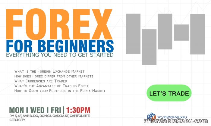 1st picture of Forex For Beginners Offer in Cebu, Philippines