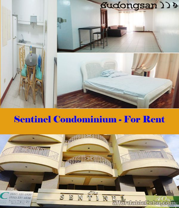 1st picture of Sentinel Condominium - For Rent For Rent in Cebu, Philippines