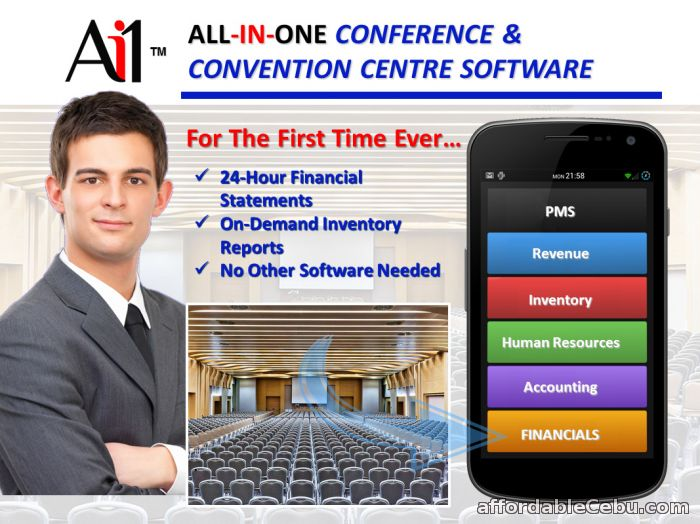 1st picture of Conference Convention Centre Software For Sale in Cebu, Philippines
