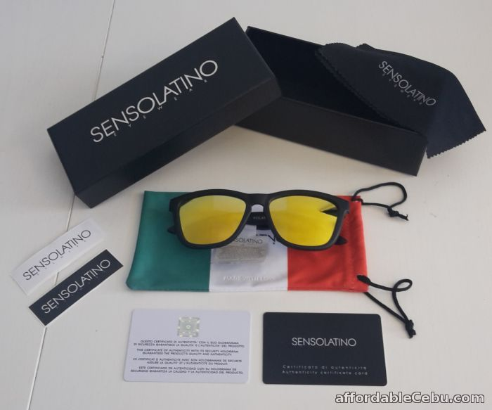 1st picture of Sensolatino Italia Sunglasses Polarized Mirror Lenses For Sale in Cebu, Philippines