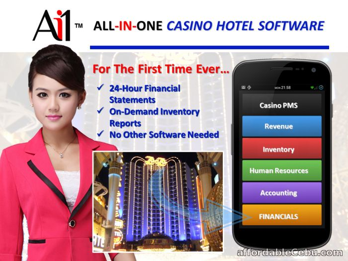 1st picture of Casino Hotel Property Management System For Sale in Cebu, Philippines