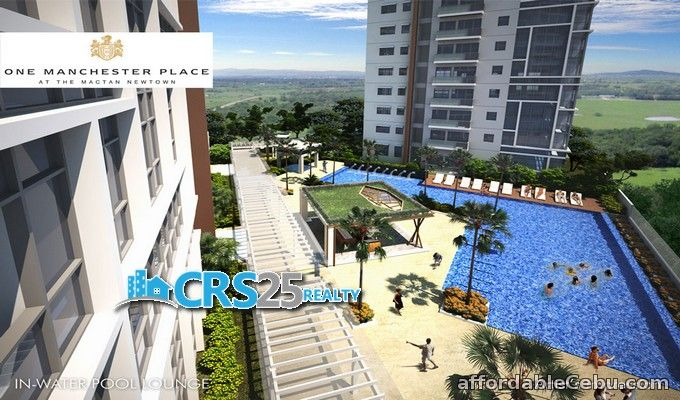 3rd picture of 2 bedrooms in One Manchester Place at Mactan Newtown Cebu For Sale in Cebu, Philippines