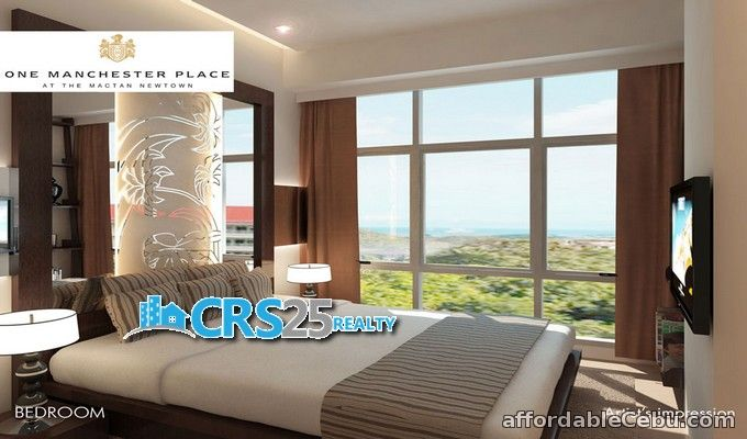 4th picture of 2 bedrooms in One Manchester Place at Mactan Newtown Cebu For Sale in Cebu, Philippines