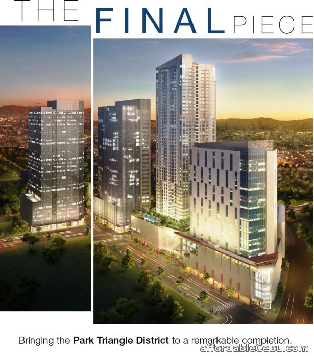 1st picture of Alveo Park Triangle Tower For Sale in Cebu, Philippines