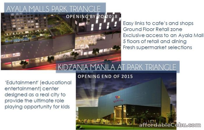 3rd picture of Park Triangle Offer in Cebu, Philippines
