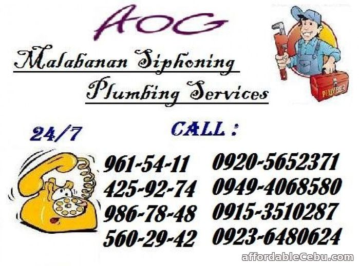 1st picture of RJ MALABANAN DECLOGGING AND SEPTIC TANK SERVICES 4259274 / 09236480624 Offer in Cebu, Philippines