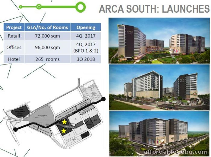 2nd picture of Arbor Lanes at Arca South For Sale in Cebu, Philippines